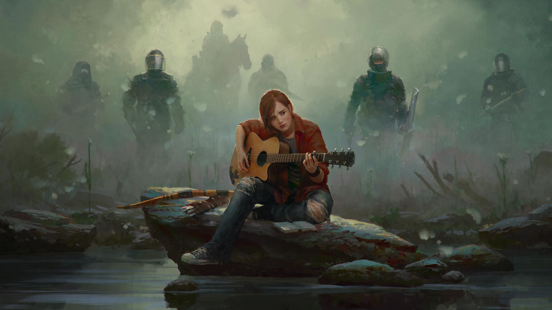 Hd Wallpaper - Last Of Us 2 Art , HD Wallpaper & Backgrounds
