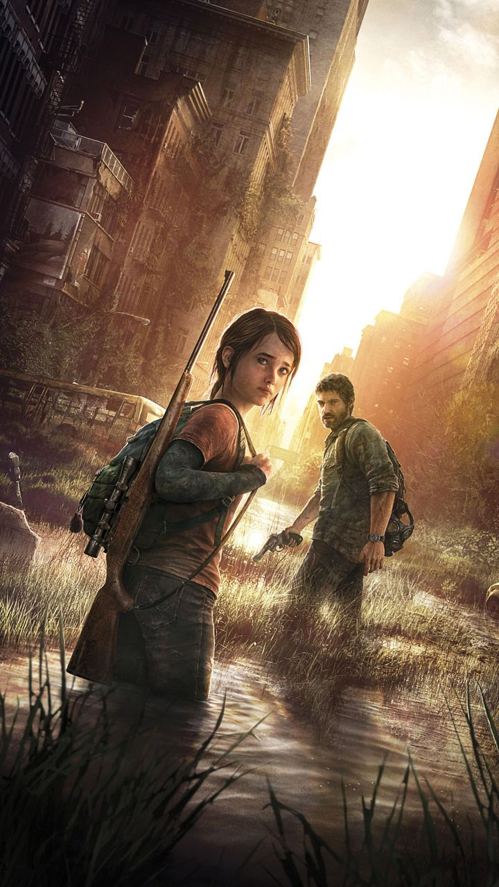 Ellie And Joel The Last Of Us Mobile Wallpaper Last Of Us