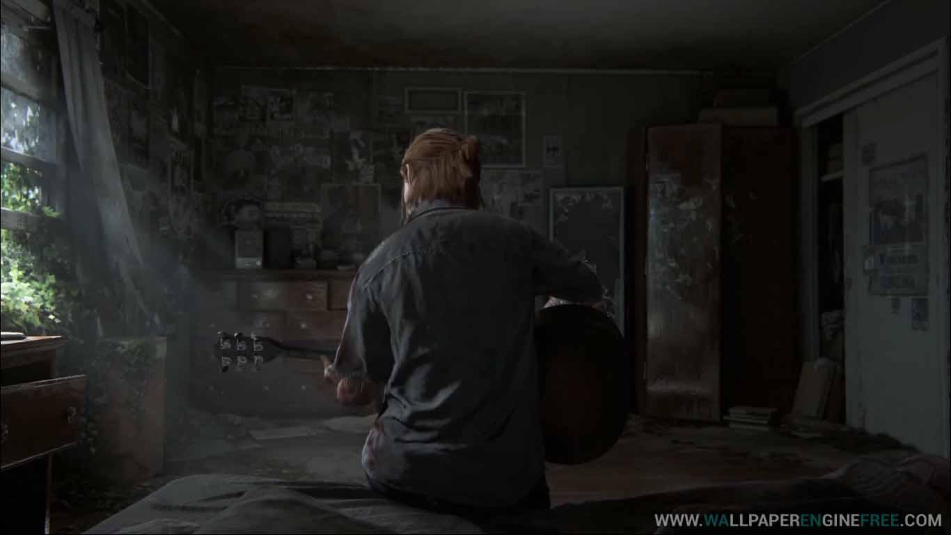 Download The Last Of Us Part Ii Ellie Guitar Solo 1080p - Last Of Us Part Ii , HD Wallpaper & Backgrounds