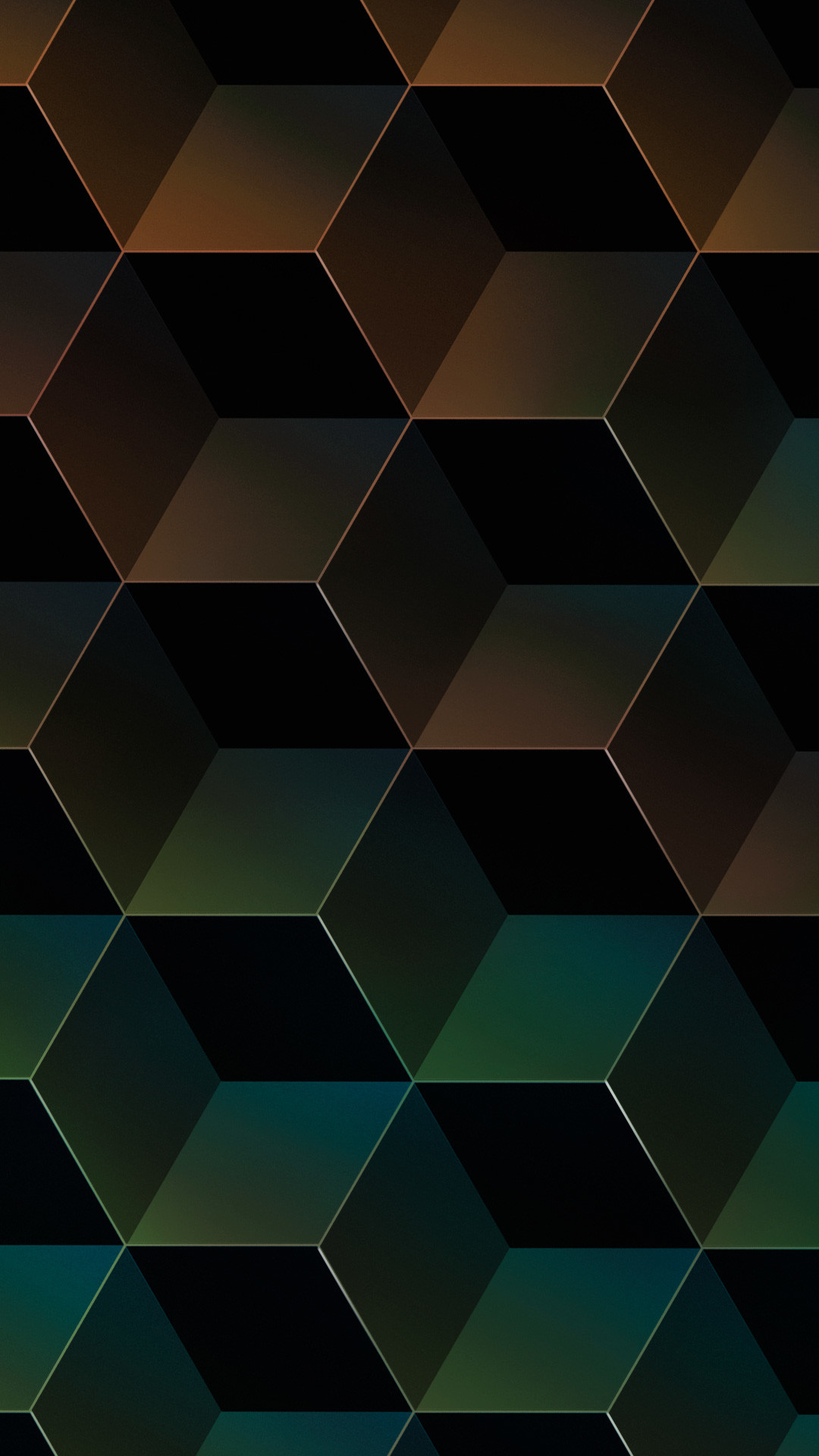 Geometric Gradient Facets Apple Iphone 7 Plus Hd Wallpapers
