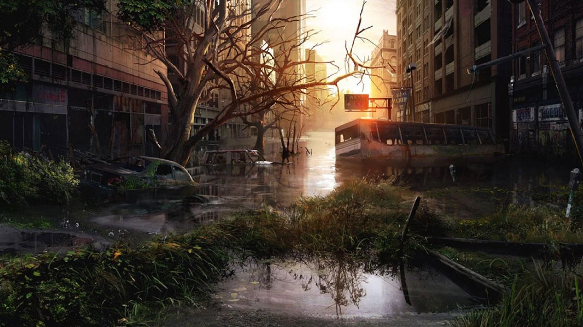 Wallpaper - Last Of Us Concept Art , HD Wallpaper & Backgrounds