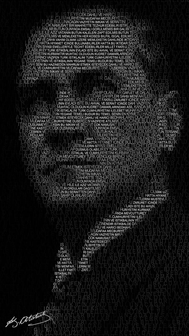 Download Ataturk Wallpaper By Jokerstart - Atatürk Wallpaper Iphone X , HD Wallpaper & Backgrounds