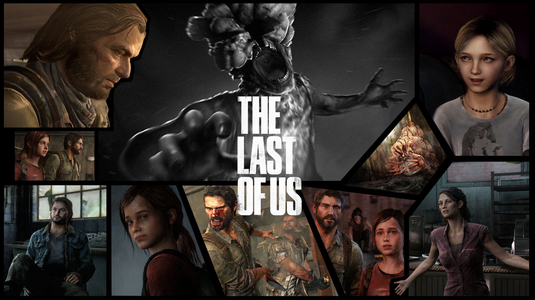 The Last Of Us Wallpaper - Last Of Us Collage , HD Wallpaper & Backgrounds