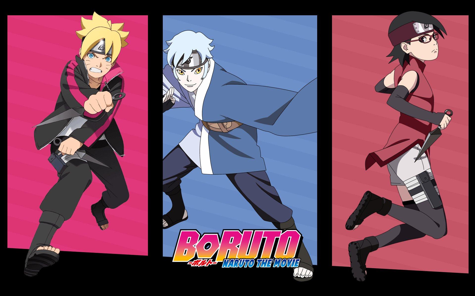 New Team - Boruto Sarada E Mitsuki , HD Wallpaper & Backgrounds