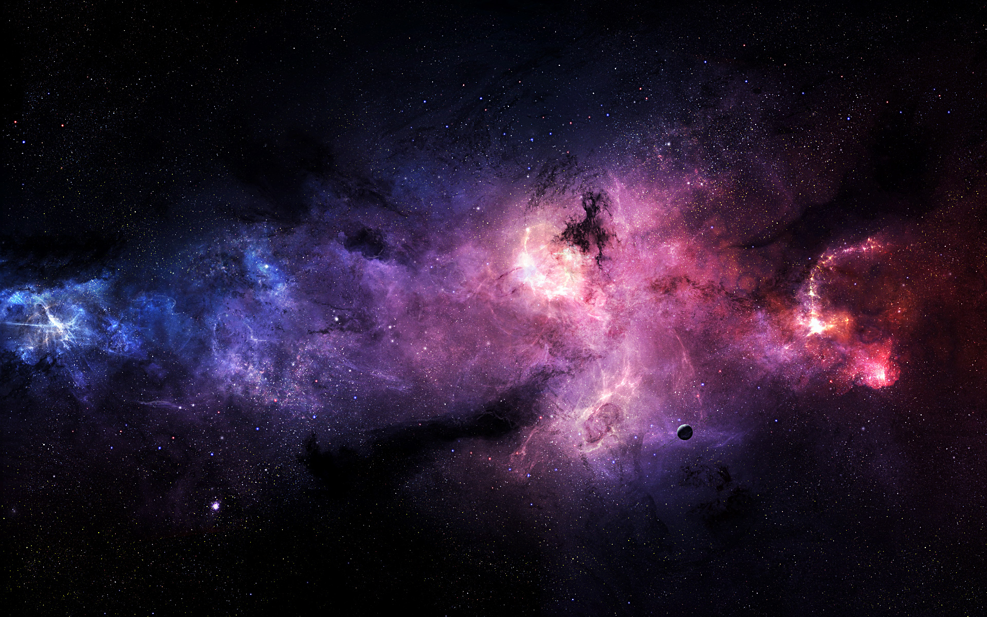 Outer Space Wallpaper - High Resolution Space Hd , HD Wallpaper & Backgrounds