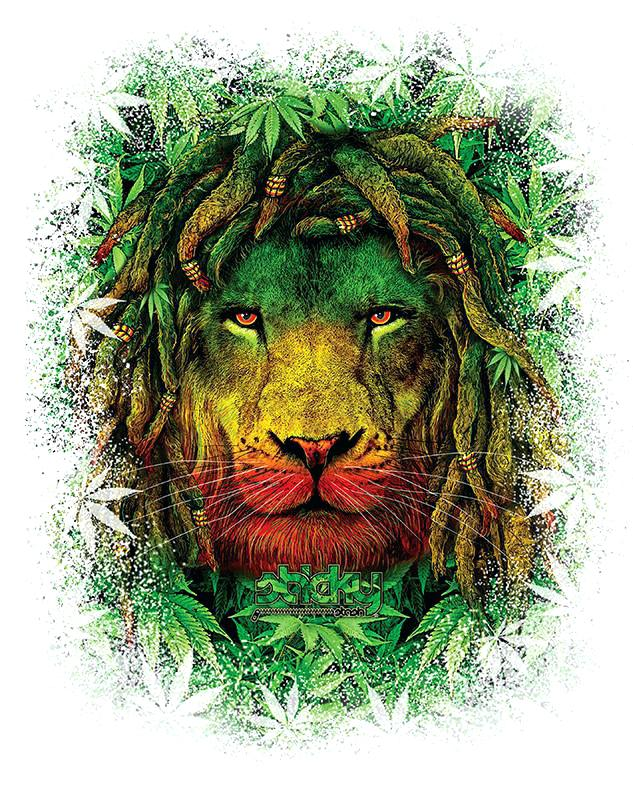 Rasta Lion Long Sleeve Shirt Sun Protection Performance - Lion Wallpaper Rasta , HD Wallpaper & Backgrounds