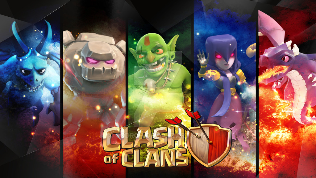 Wallpaper Clash Of Clan Hd 101150 Hd Wallpaper