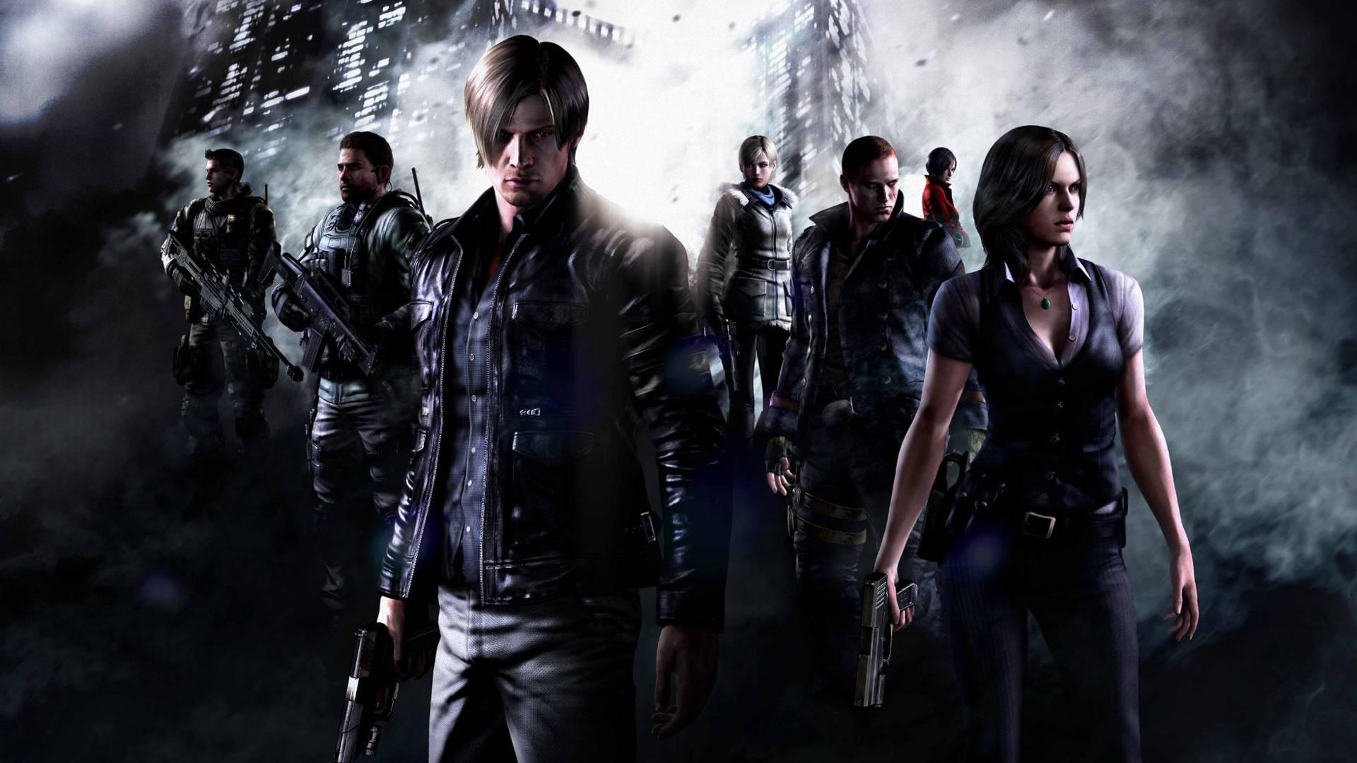 Video Game Wallpaper - Resident Evil 6 , HD Wallpaper & Backgrounds