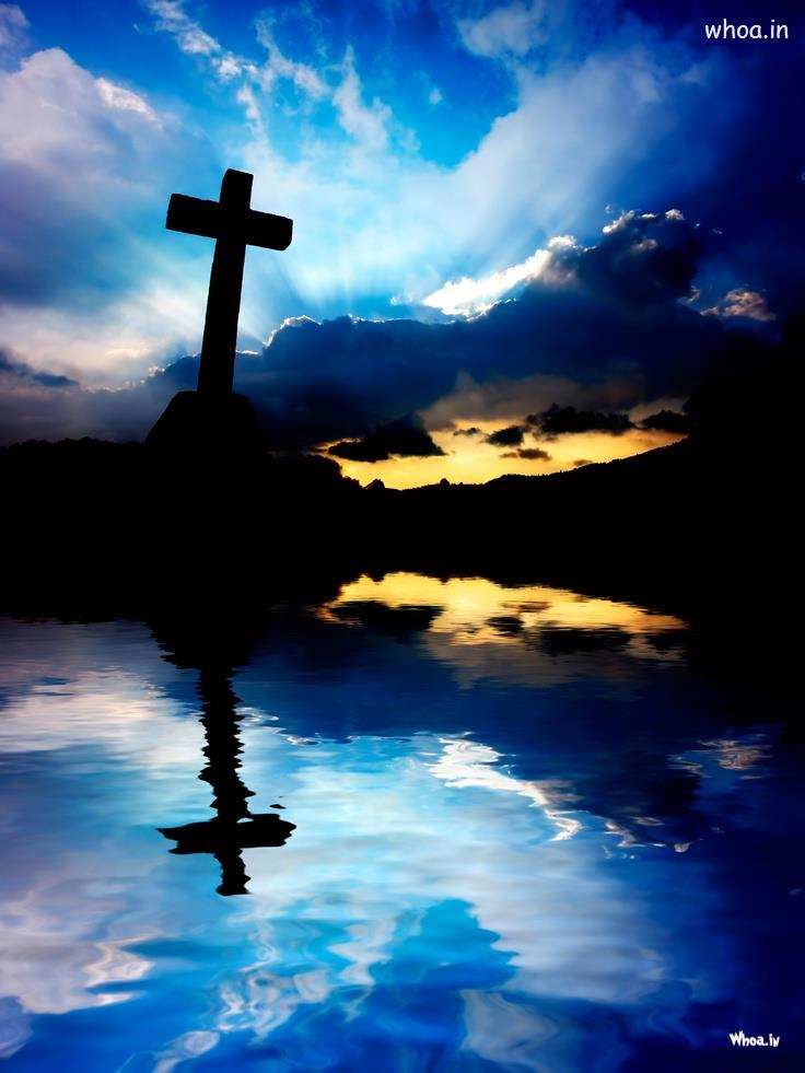 Beautiful Scenery With Cross , HD Wallpaper & Backgrounds