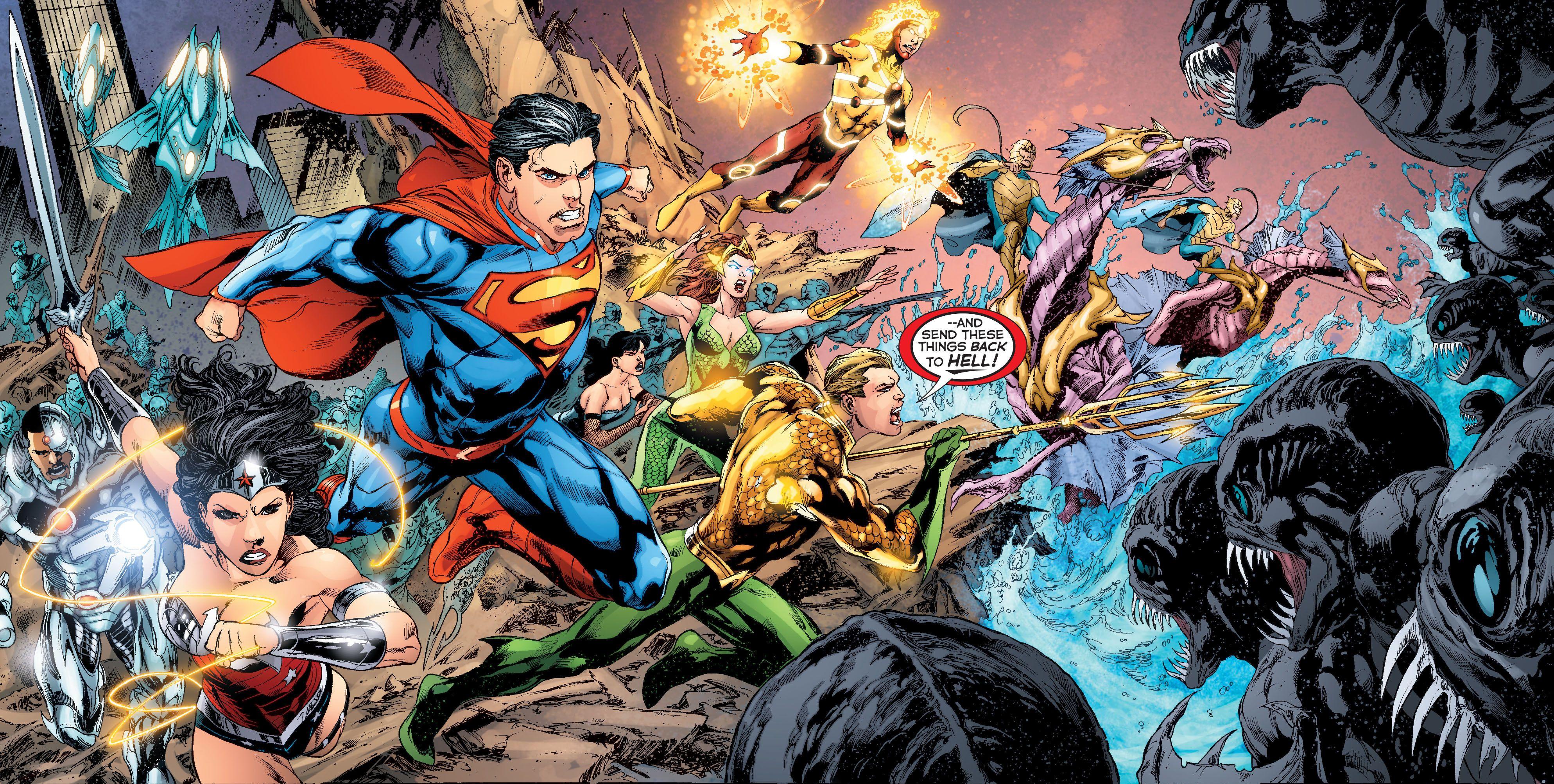 Justice League Computer Wallpapers Desktop Backgrounds 102781