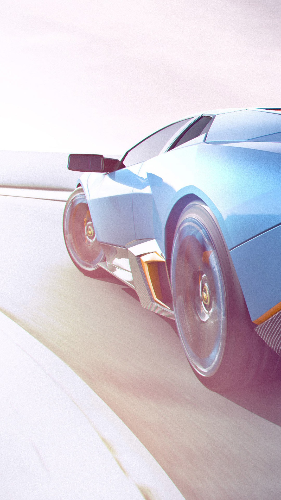 Lamborghini Cgi Artwork Qhd Wallpaper Car Wallpaper For