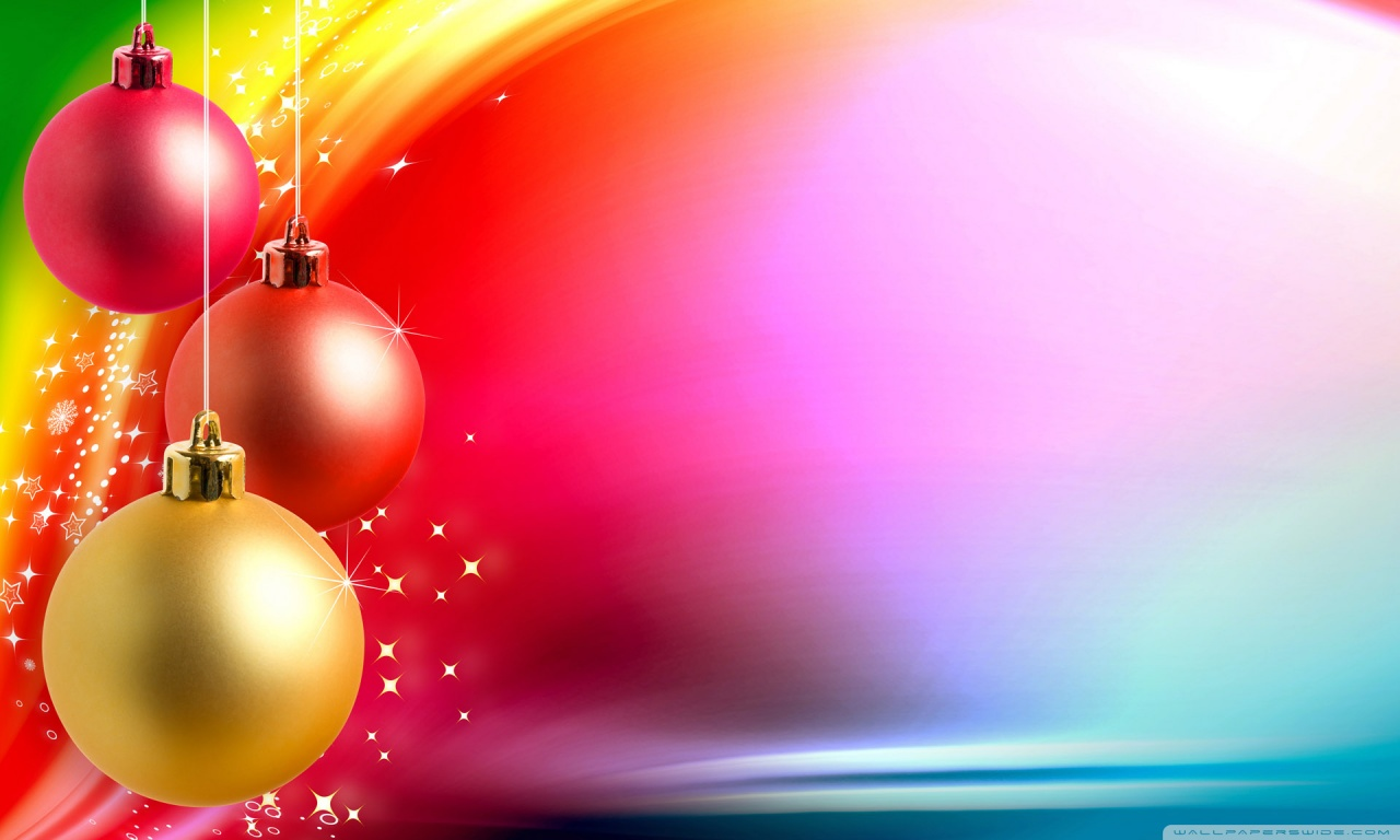 Christmas Background Wallpaper Hd Colorful Christmas