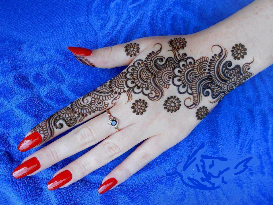 New Beautiful E - Latest Mehndi Design For Eid , HD Wallpaper & Backgrounds