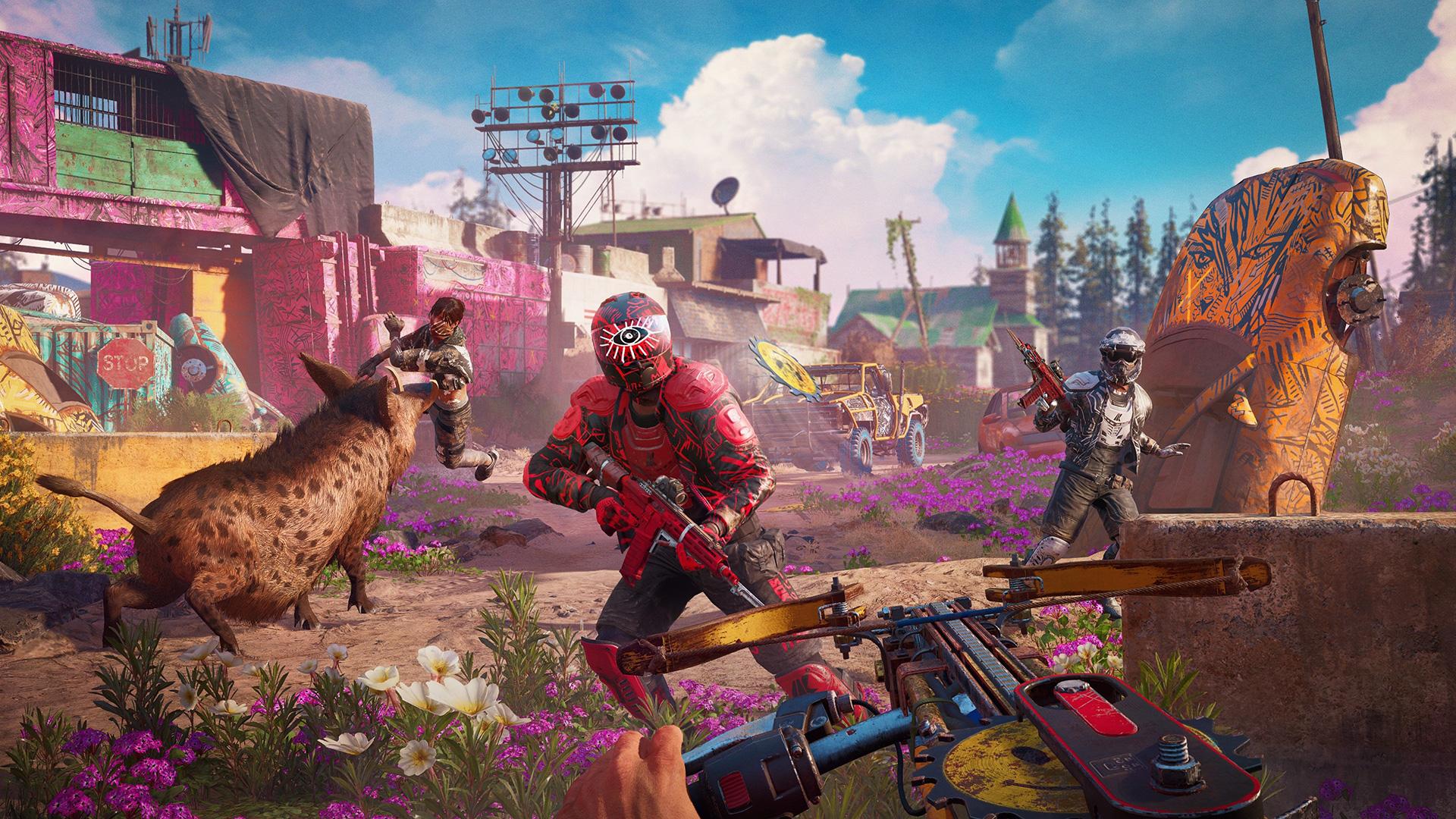 Far Cry New Dawn 4k Wallpaper Far Cry New Dawn 104005 Hd