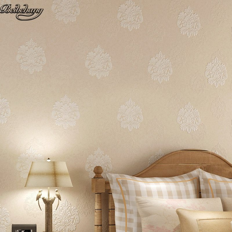 Living Walls Behang.Beibehang Simple European Non Woven 4d Wallpaper Living