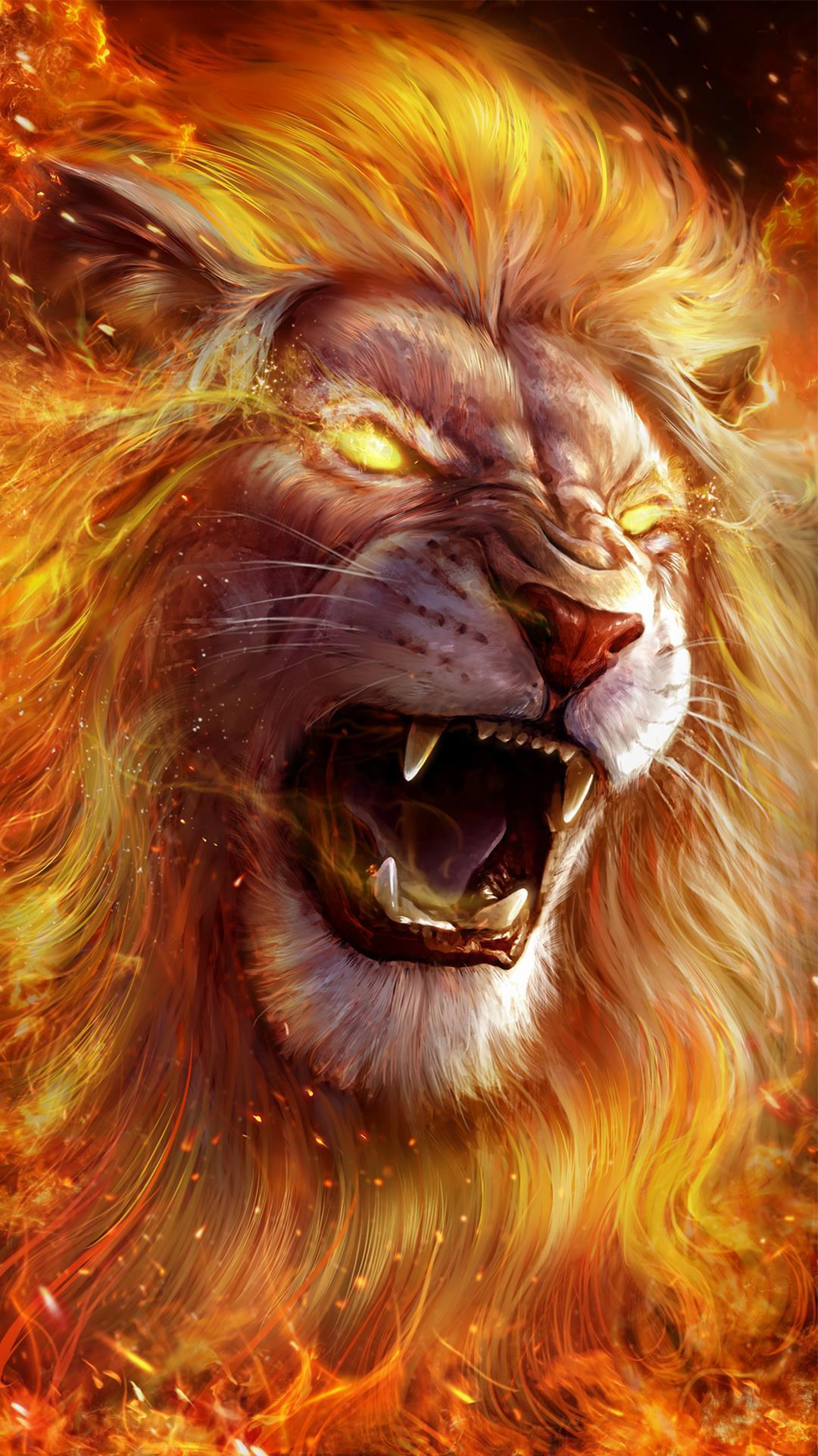 Lion Hd Wallpaper - Lion Wallpaper Live , HD Wallpaper & Backgrounds