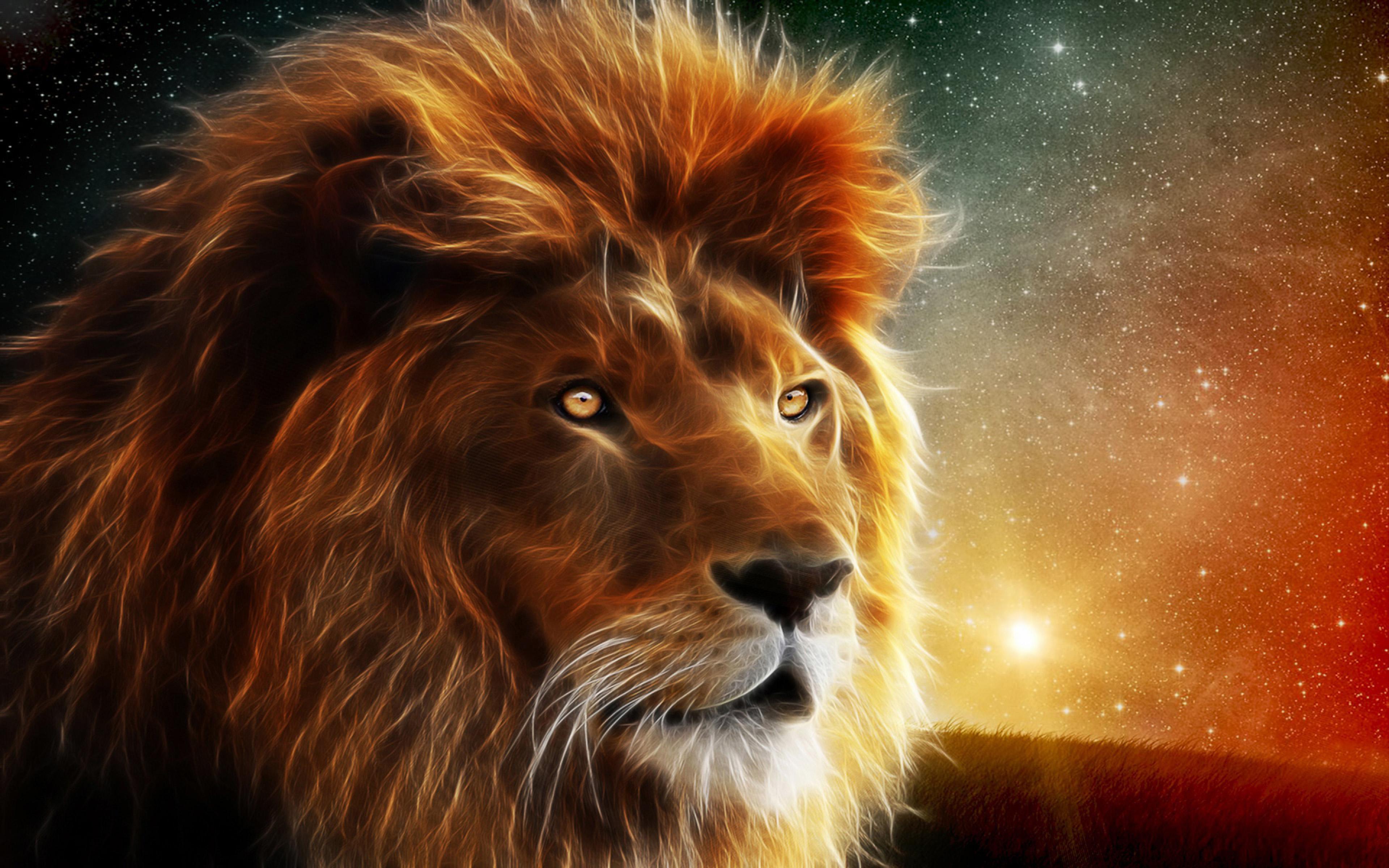 Download Original Resolution - Lion Wallpaper Download Hd , HD Wallpaper & Backgrounds