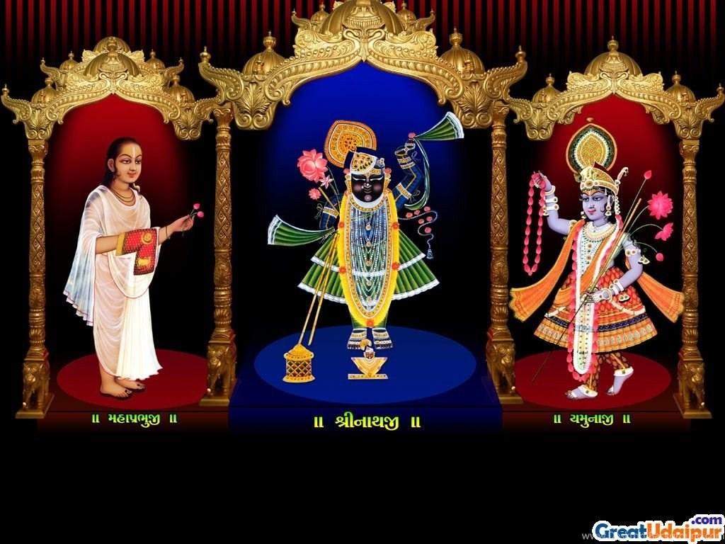 Hindu God Hd Wallpaper Hindu Gods Wallpaper Hd Hindu - Shrinathji Yamunaji , HD Wallpaper & Backgrounds