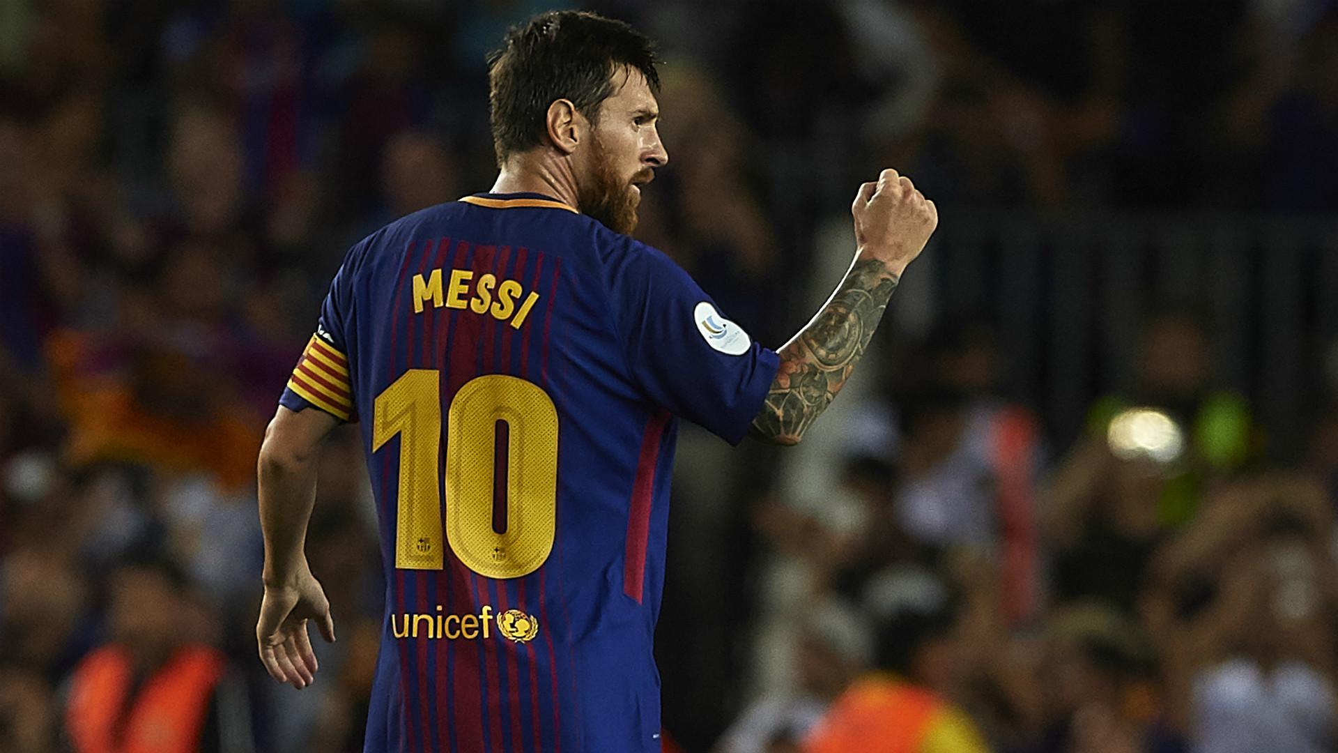 Download - Leo Messi 2017 18 , HD Wallpaper & Backgrounds