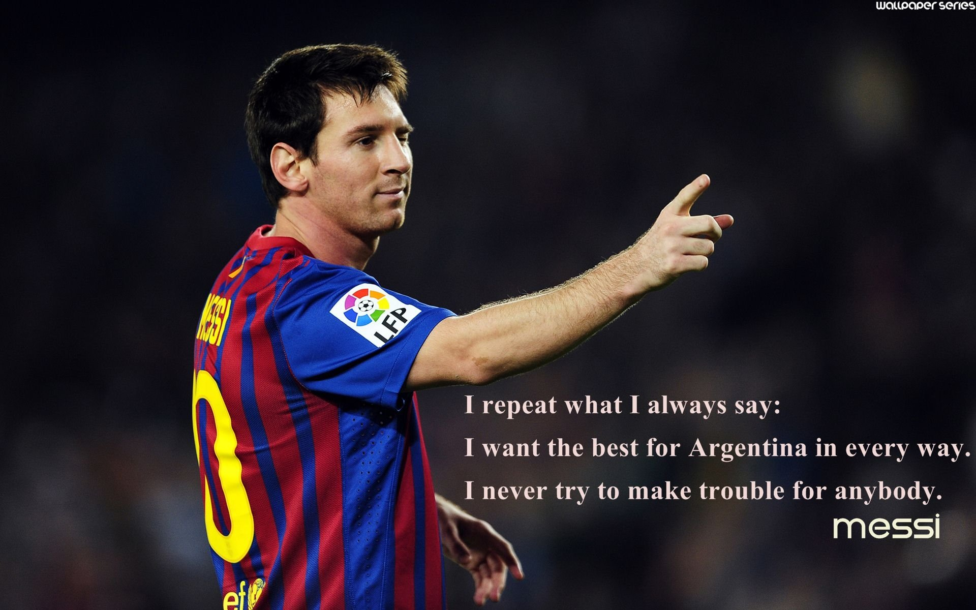 Lionel Messi Best Motivational Quotes Wallpaper - Quotes On Barcelona Fc , HD Wallpaper & Backgrounds