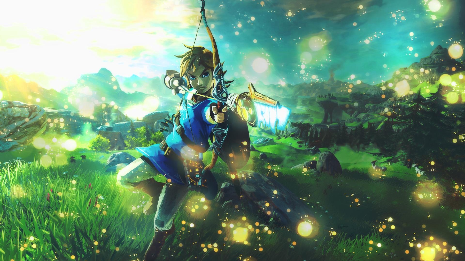 Zelda Breath Of The Wild Hd Wallpaper Zelda Breath Of The Wild