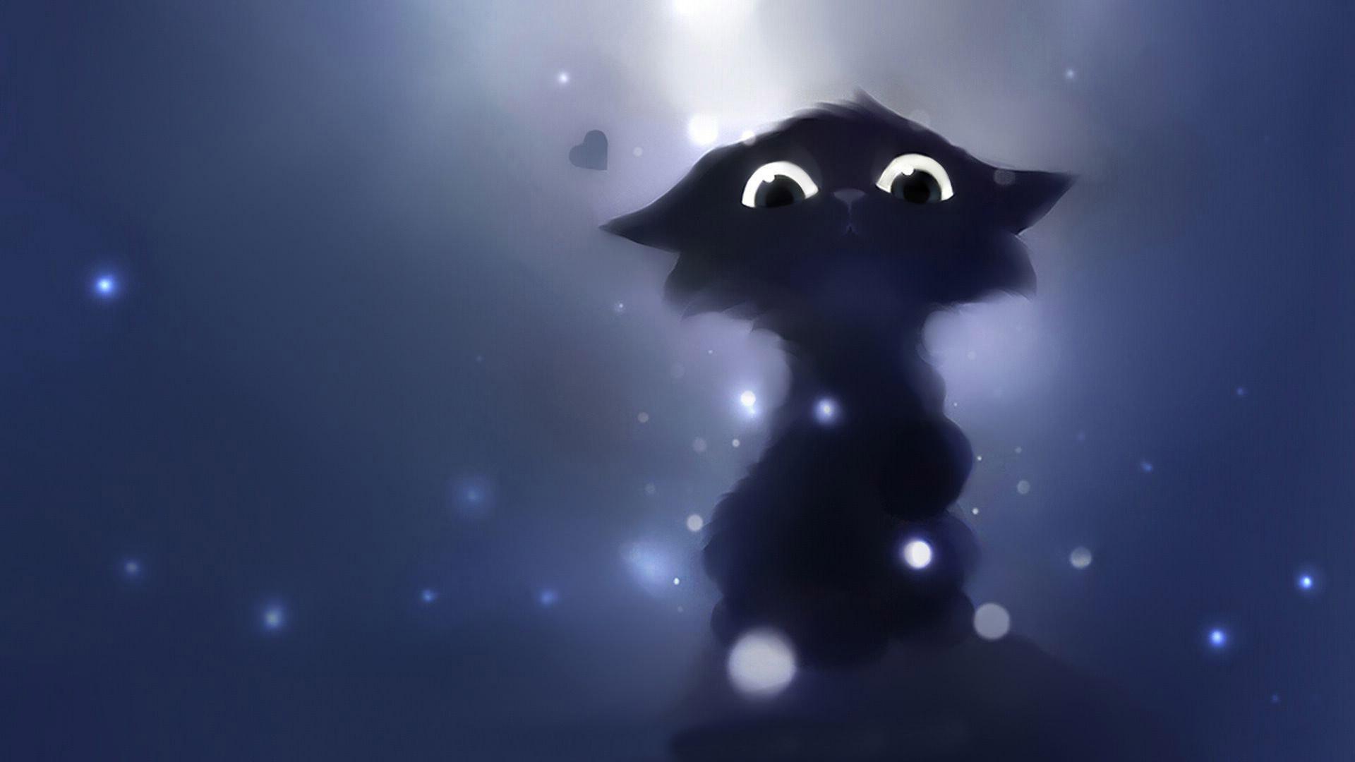 Cute Dark Wallpaper Black Cat Halloween Background 109385 Hd Wallpaper Backgrounds Download