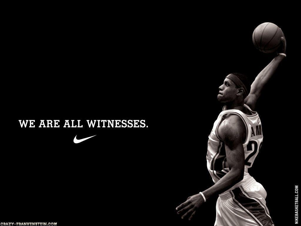Basketball Wallpaper Lebron James Wallpaper Nike 109596 Hd