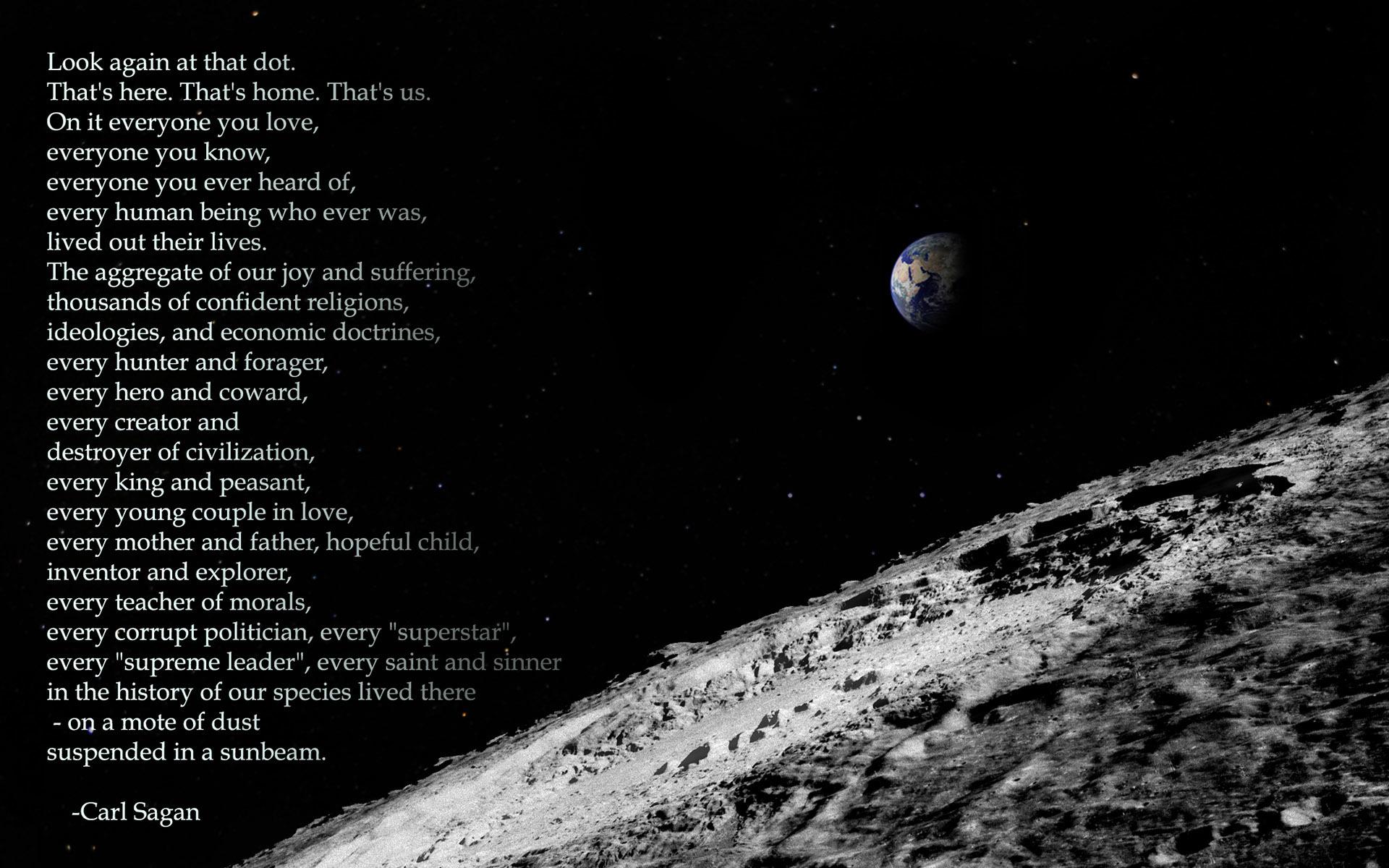 Carl Sagan Quote Hd Wallpaper Carl Sagan Quote Hd Wallpaper