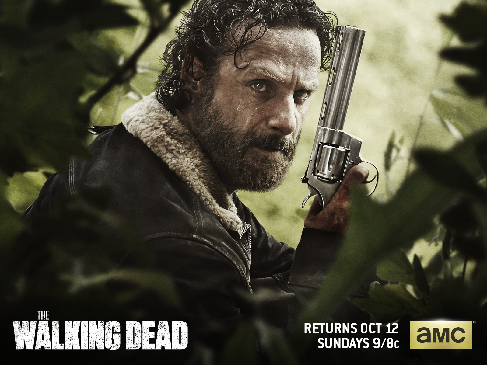 Andrew Lincoln As Rick Grimes Wallpaper And Background Walking