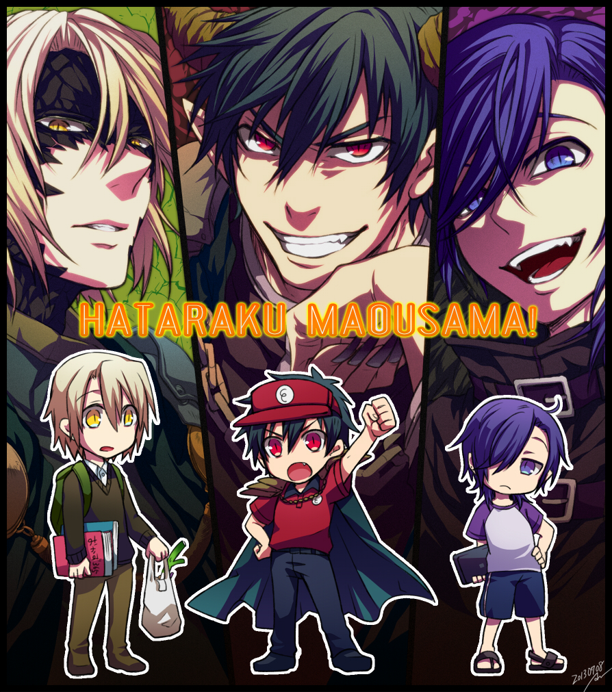 The Devil Is A Part Timer Wallpaper Devil Is A Part Timer