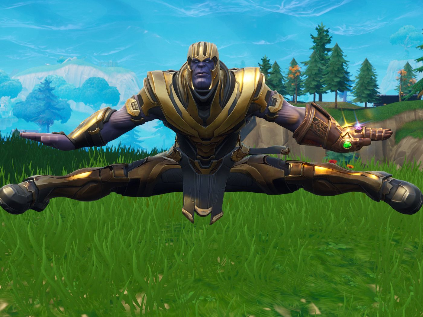 Upcoming Cosmetics Found In Patch V4 Thanos Fortnite Dance Gif 1003835 Hd Wallpaper Backgrounds Download