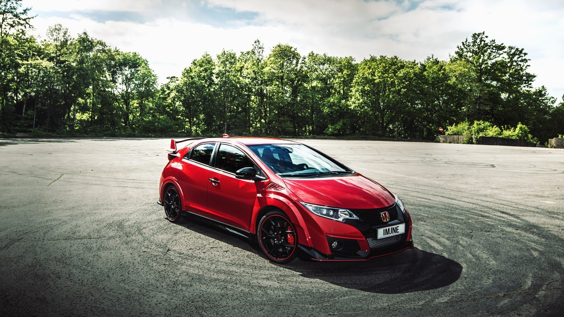Car Vehicle Honda Civic Type R Wallpapers Hd Desktop Civic Type