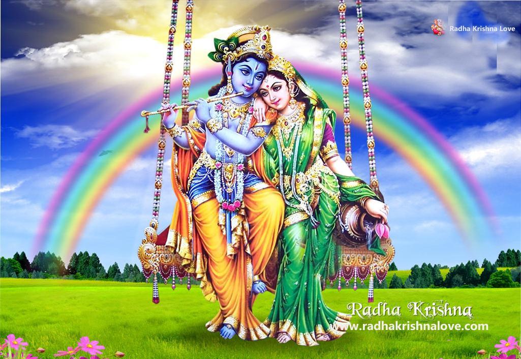 Radha Krishna Romantic Wallpaper Krishna Radha Full Hd
