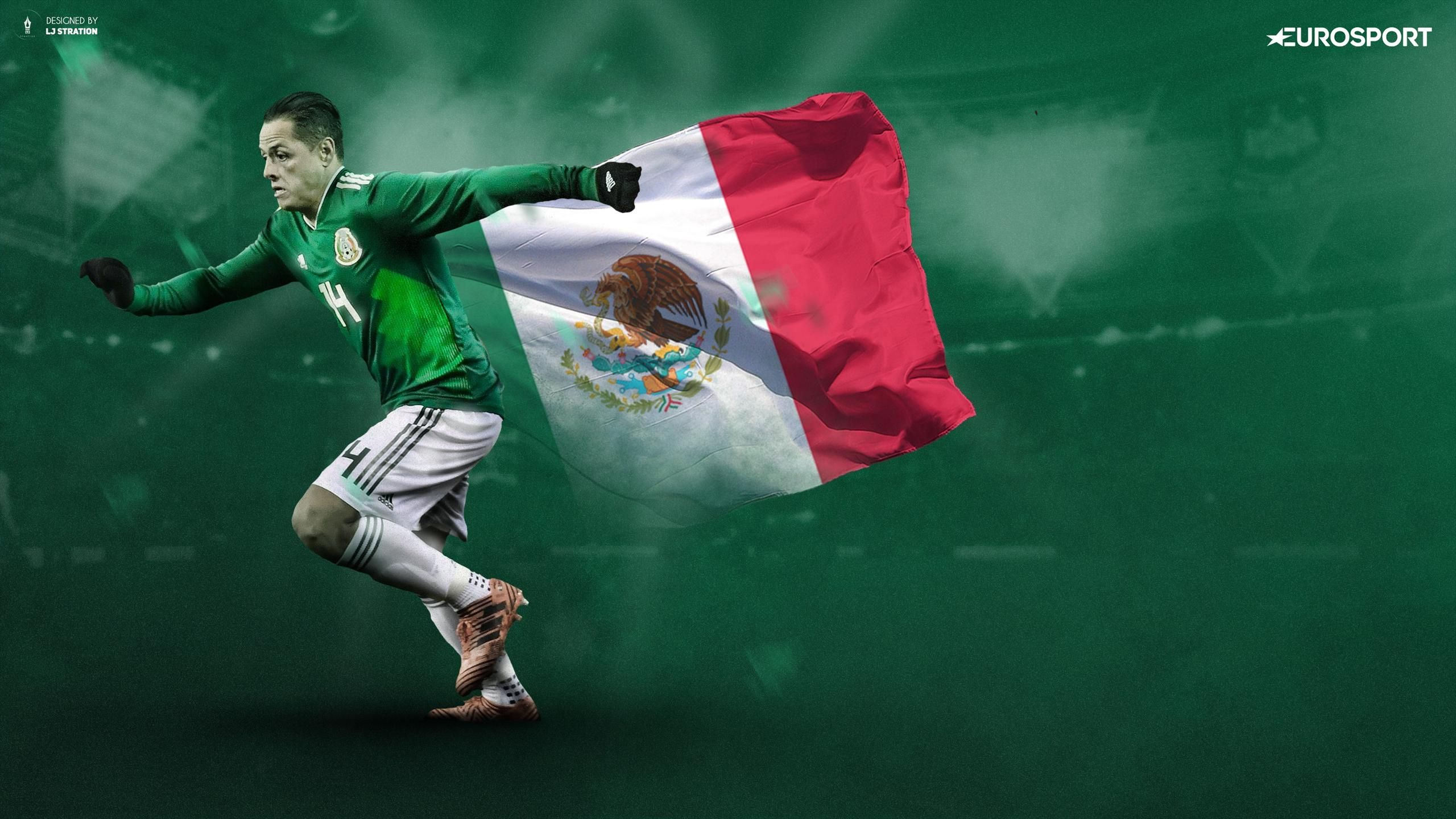 Javier Hernandez Mexico Wallpapers And Backgrounds - Mexico Soccer Team World Cup 2018 , HD Wallpaper & Backgrounds