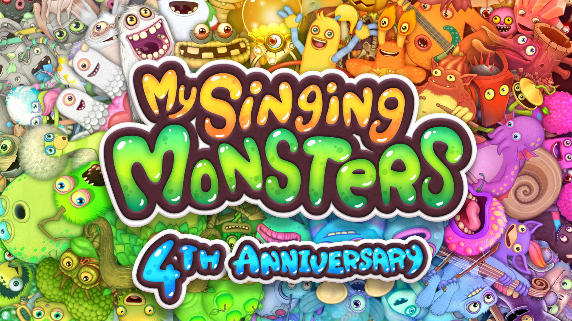 My Singing Monsters Fifth Anniversary Wallpaper - My Singing Monsters , HD Wallpaper & Backgrounds