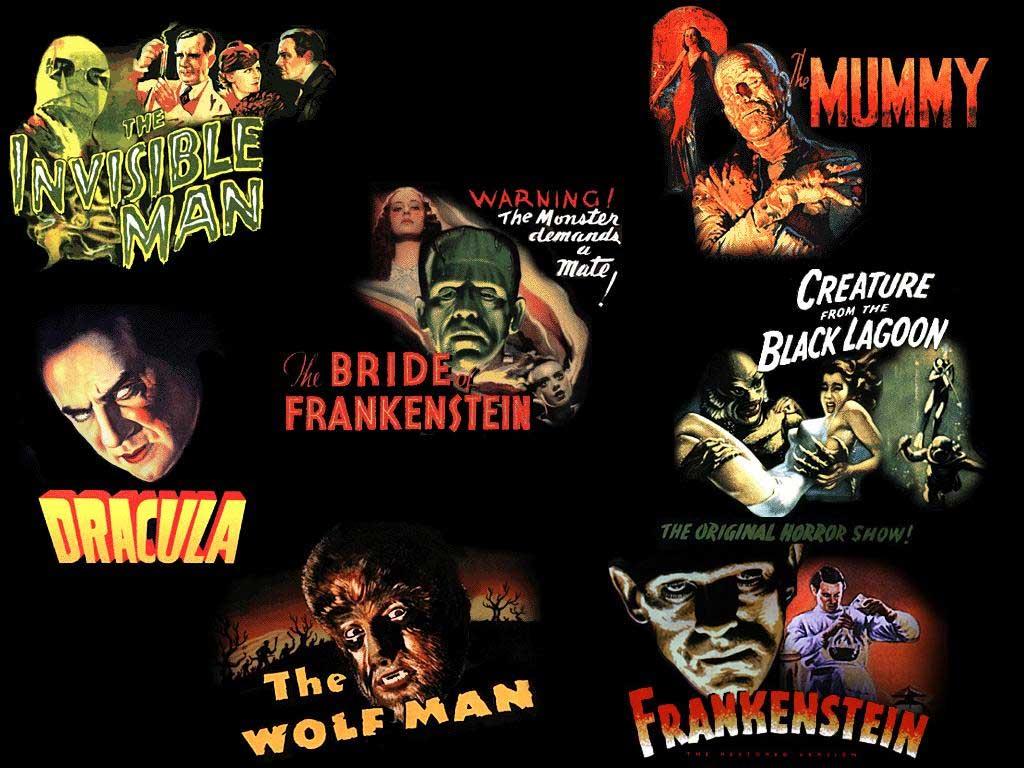 Classic Universal Horror Movies Wallpaper , HD Wallpaper & Backgrounds