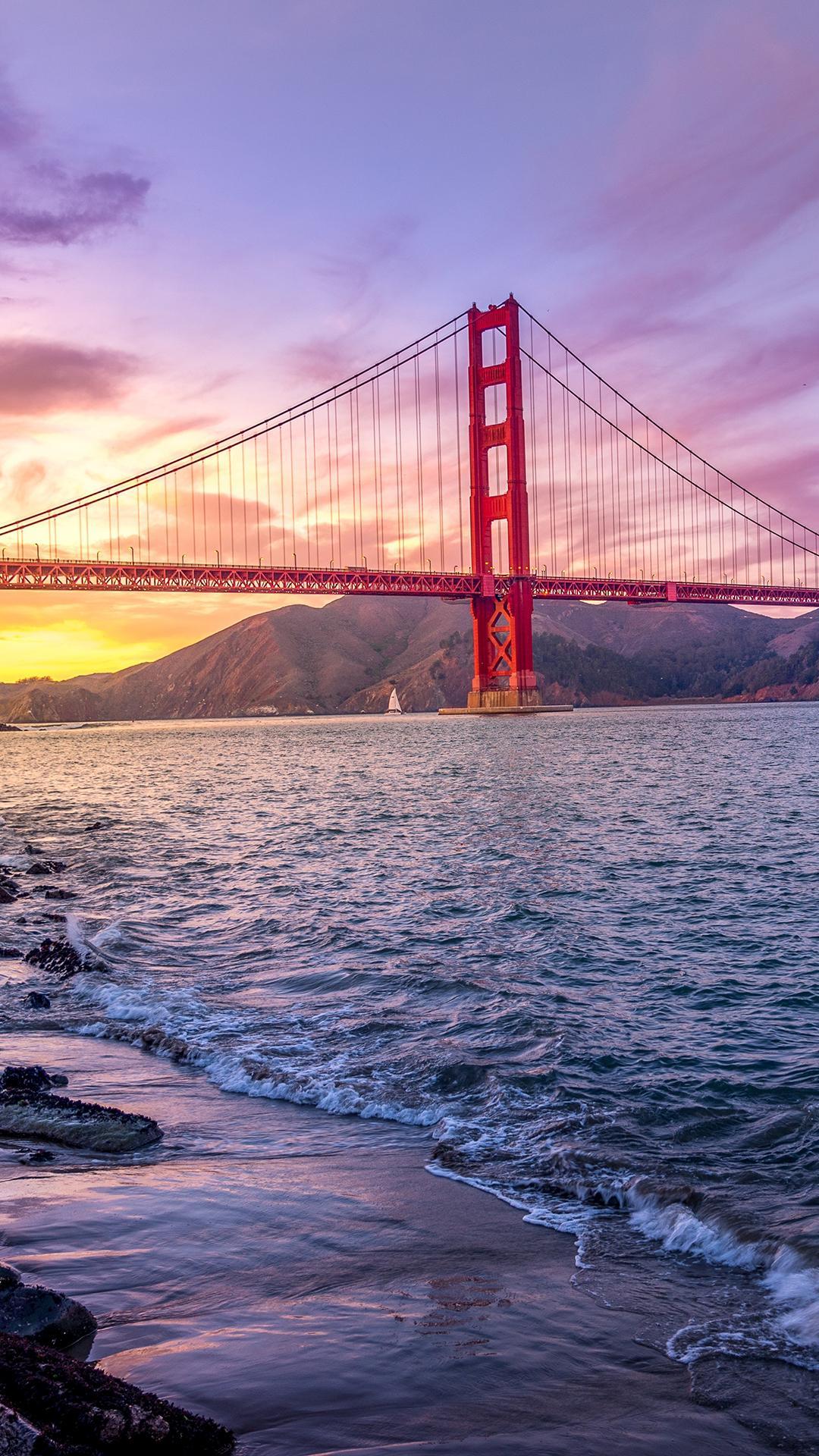 Golden Gate Bridge Iphone Wallpaper Golden Gate Bridge Phone