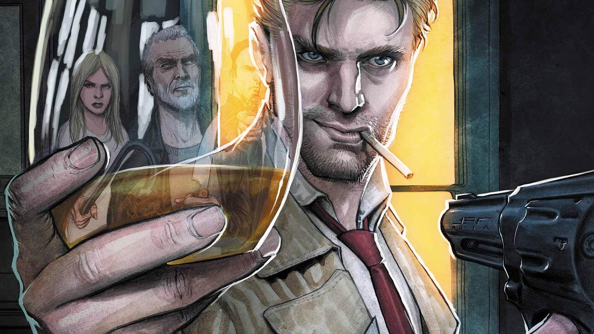 Superhero John Constantine Hellblazer Dc 1080p Hd Wallpaper