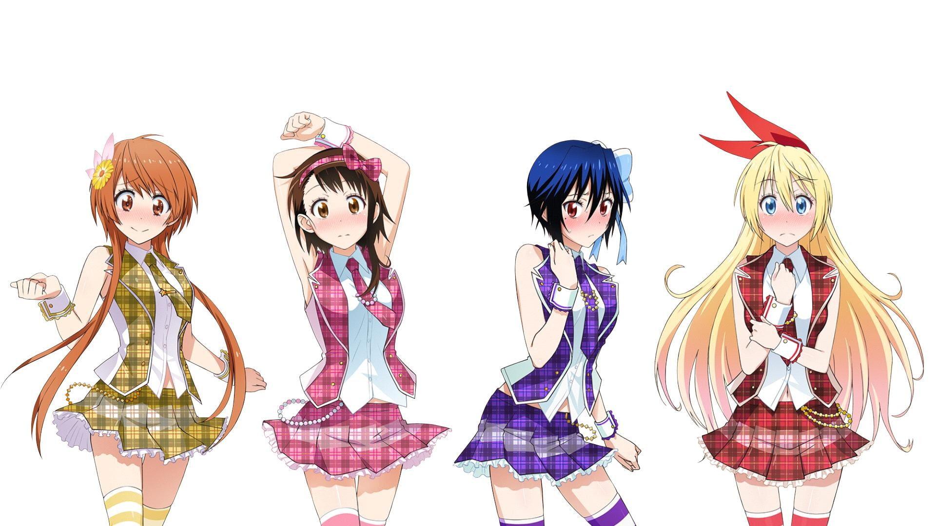 Onodera Kosaki, Hair Ornament, Tomboys, Blue Hair, - Nisekoi Girls , HD Wallpaper & Backgrounds