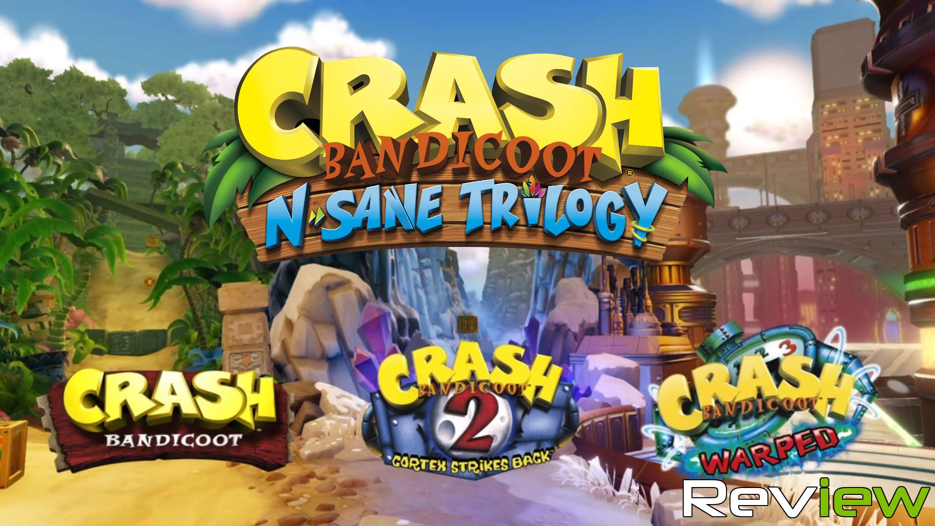 Crash Bandicoot N Crash Bandicoot N Sane Trilogy 2 Player