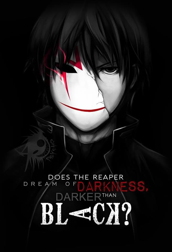 Does The Reaper Dream Of Darkness, Darker Than Black - Cool Anime Wallpaper For Android , HD Wallpaper & Backgrounds