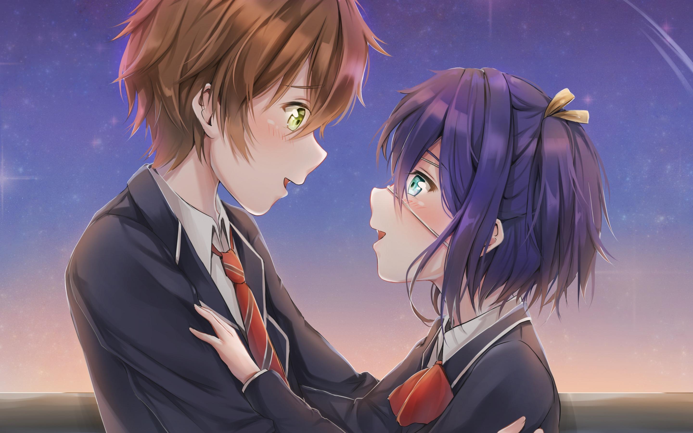 Chuunibyou Demo Koi Ga Shitai Rikka Takanashi Yuuta Yuuta