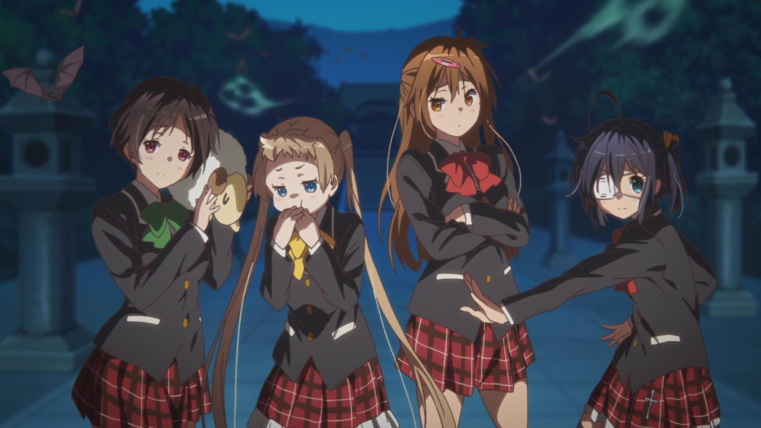 Kumin Tsuyuri, Rikka Takanashi, Shinka Nibutani, Sanae - Chuunibyou Demo Koi Ga Shitai Movie Take , HD Wallpaper & Backgrounds