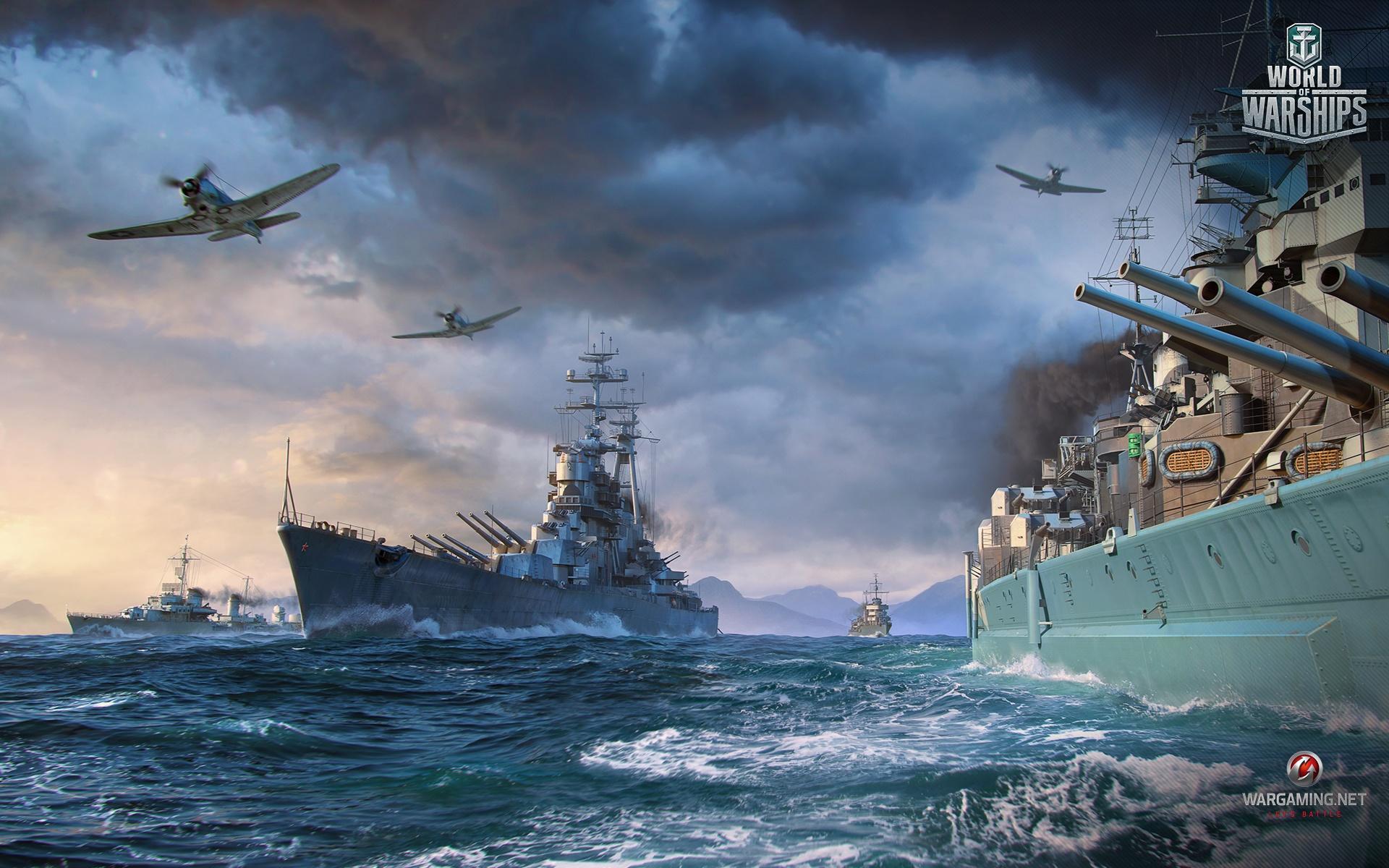 World Of Warships Screensaver 1026684 Hd Wallpaper