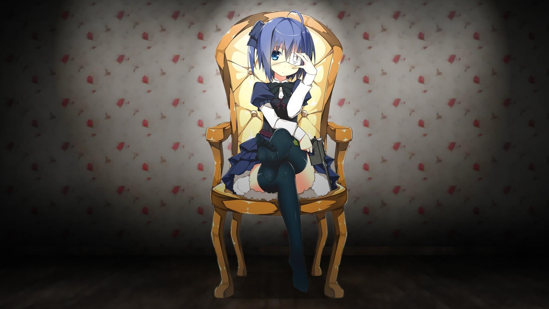 Feet Anime Anime Girls Takanashi Rikka Chunibyo Demo - Imagenes De Chuunibyou Demo Koi Ga Shitai , HD Wallpaper & Backgrounds