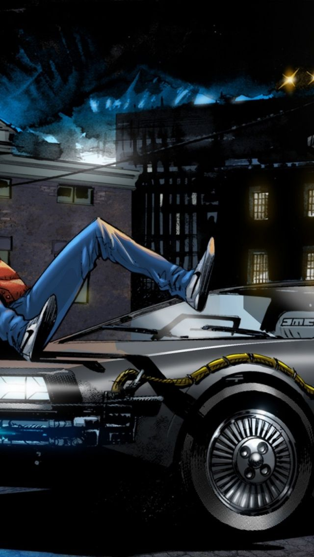 Back To The Future Hd Wallpapers And Backgrounds 16001200