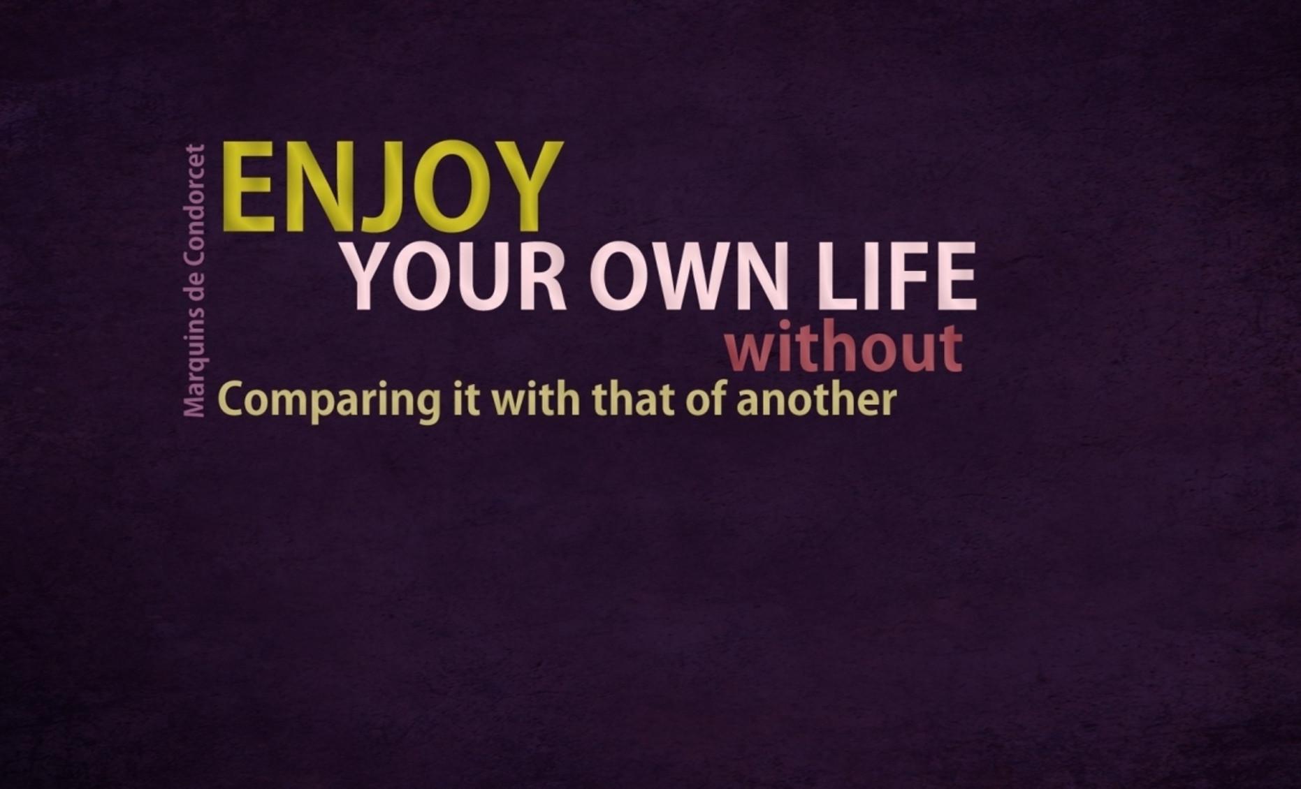 Enjoy Your Life Quotes Desktop Wallpaper Cute Wallpapers