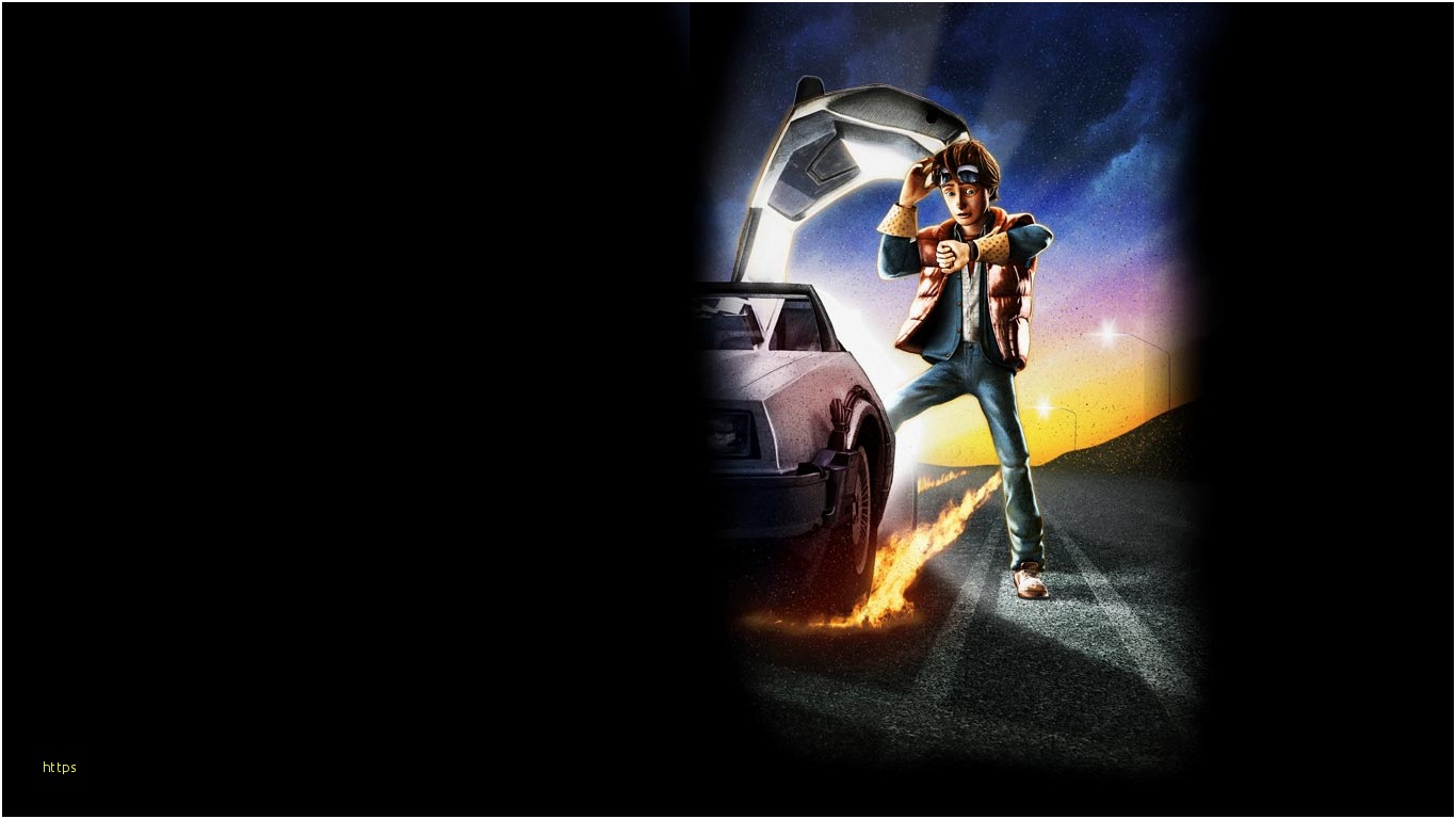 Awesome Back To The Future Wallpaper Gallery - Back To The Future Telltales , HD Wallpaper & Backgrounds