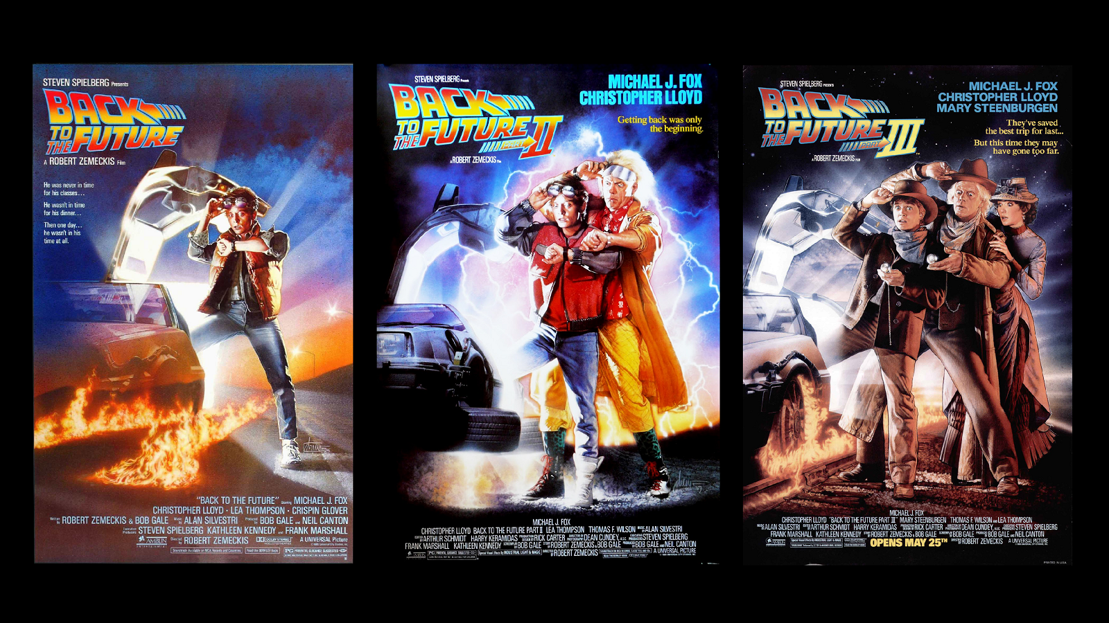 #trilogy, #back To The Future Wallpaper - Back To The Future 2 1989 Movie Poster , HD Wallpaper & Backgrounds
