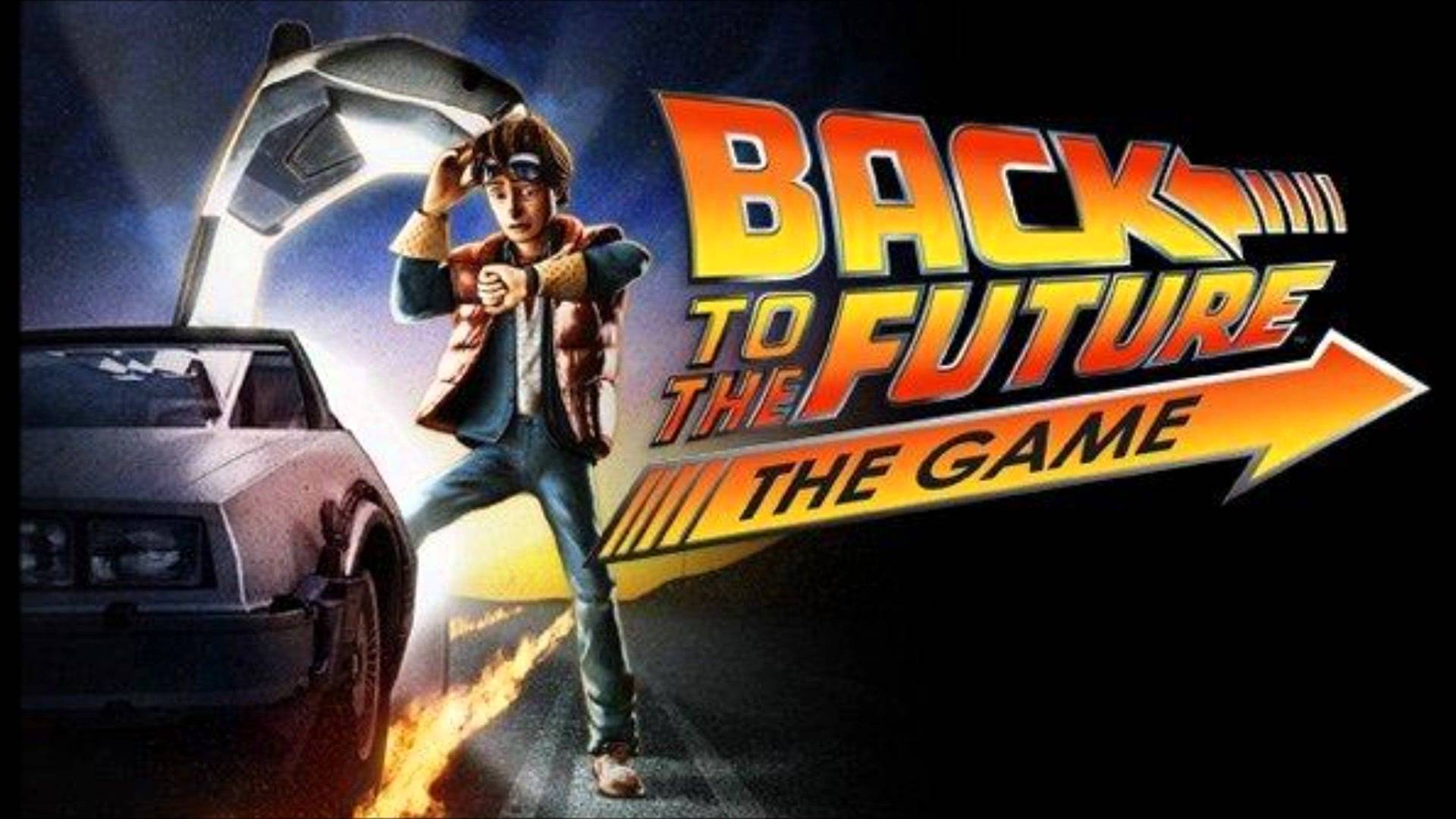 Back In The Game Wallpaper Back To The Future Game Ps4 1027811